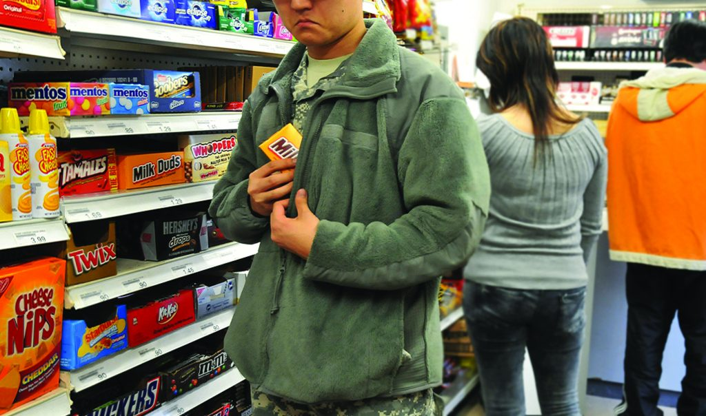 Resolutions for Shoplifters