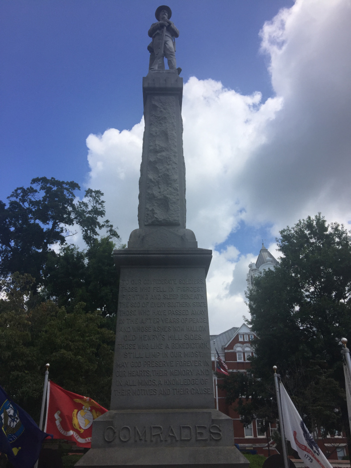This Statue Exalts White Supremacy. Tear it Down.